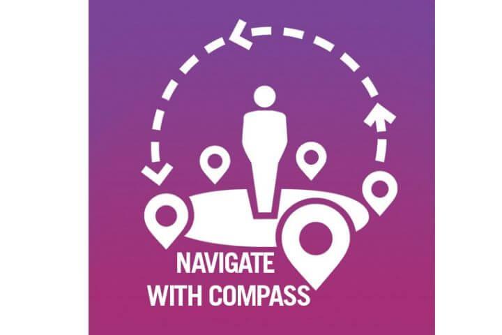 The University of Sunderland in London Compass logo