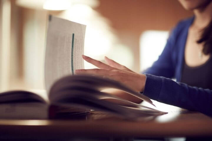 University of Sunderland student studying