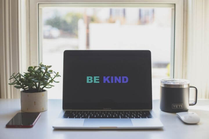 Be Kind computer image