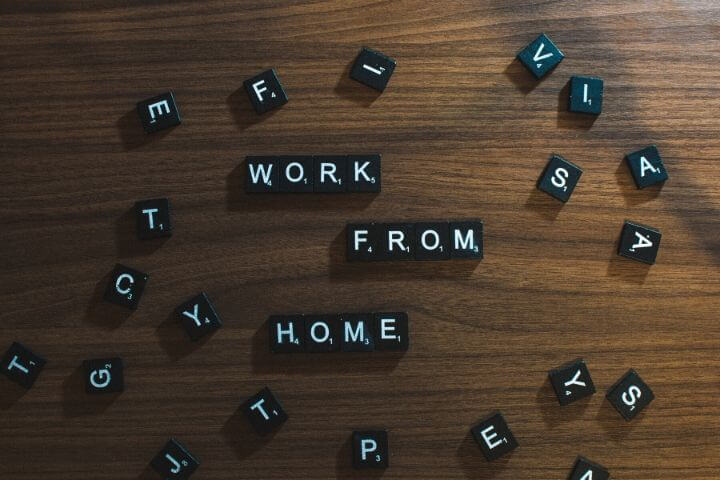 Striking a balance when working from home
