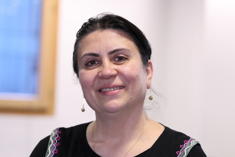 University of Sunderland in London Library intern Gabriela Preutesei.