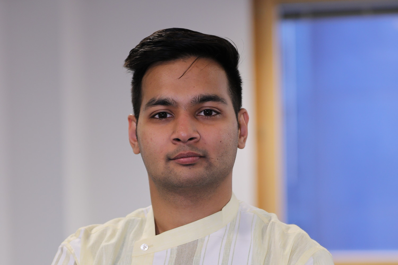 University of Sunderland in London Events intern Gourav Bardia.