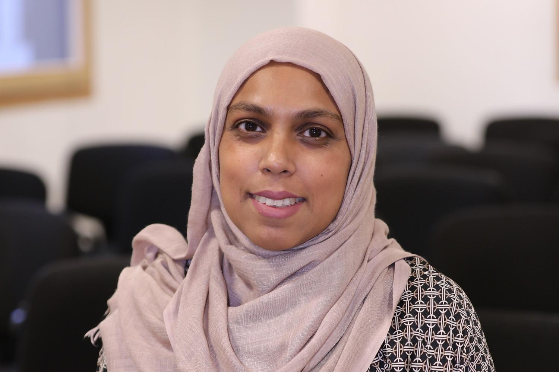 University of Sunderland in London Student Administration intern Salina Aktar.