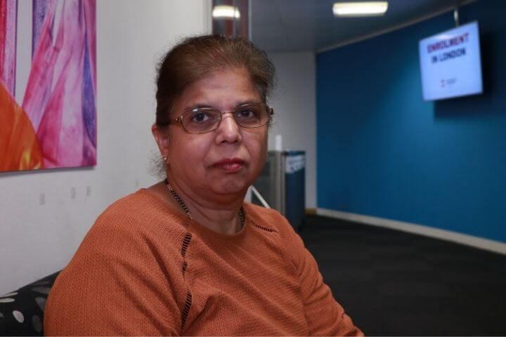 Lecturer in Health Care at the University of Sunderland in London Dr Rekha Elaswarapu