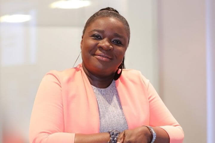 Lecturer in Business Management at the University of Sunderland in London Akua Sackey