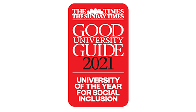 University of the Year for Social Inclusivity logo