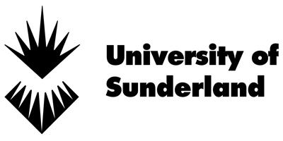 University of Sunderland black logo