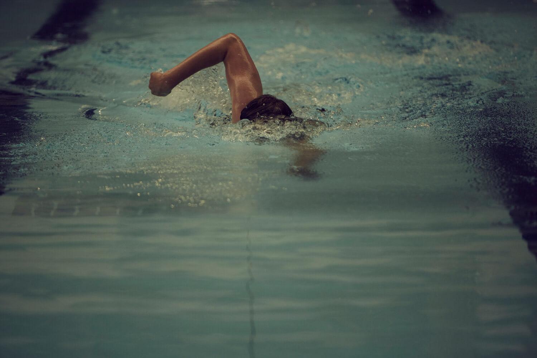 University of Sunderland student swimming