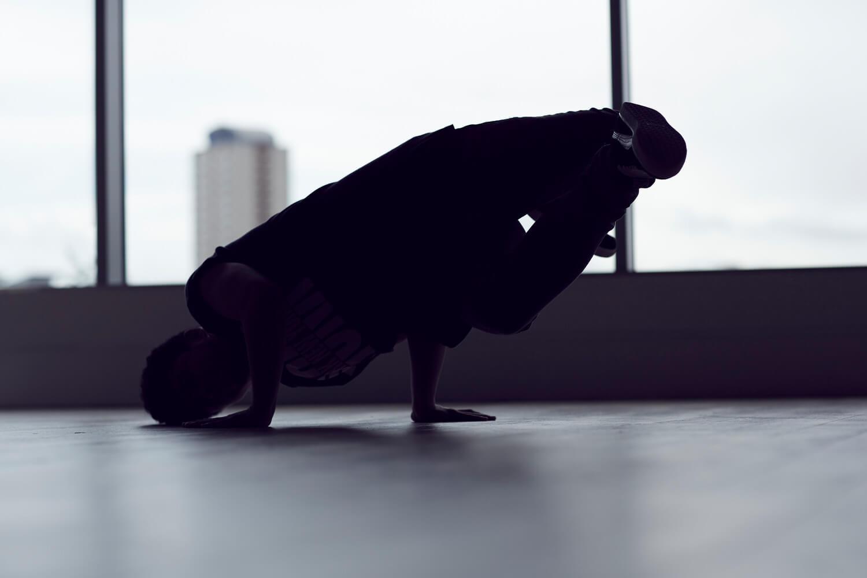 University of Sunderland student dancing