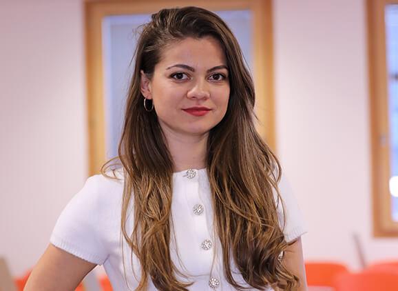 University of Sunderland in London student and intern Desislava Vodenicharova
