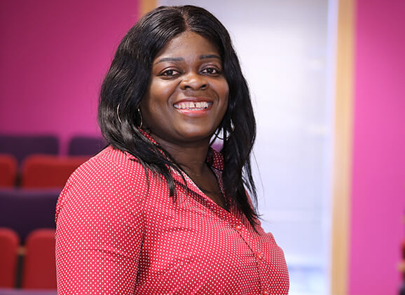 University of Sunderland in London BA (Hons) Business and Management student Evelyn Agyepong
